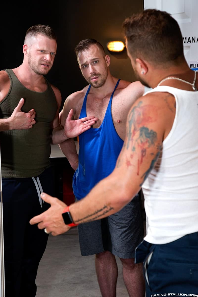 Men for Men Blog RagingStallion-Blake-Hunter-cock-Riley-Mitchell-deep-throat-Brian-Bonds-spit-roast-tatted-hunk-008-gay-porn-pictures-gallery With Blake Hunter's cock down Riley Mitchell's throat Brian Bonds slides his shaft deep into Riley's crack to spit-roast the tatted hunk Raging Stallion  tongue Streaming Gay Movies Smooth raging stallion premium gay sites Porn Gay jockstrap jock Hot Gay Porn hole HIS gay video on demand gay vid gay streaming movies Gay Porn Videos Gay Porn Tube Gay Porn Blog Free Gay Porn Videos Free Gay Porn face Cock cheeks cheek ass