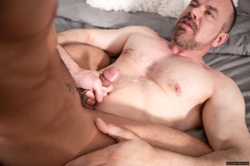 Men for Men Blog IconMale-older-guy-Max-Sargent-younger-Casey-Everett-sexy-bubble-butt-asshole-ass-rimming-cocksucker-015-gay-porn-pictures-gallery Young sexy stud Casey Everett's tight bubble butt fucked hard by older gent Max Sargent big daddy cock Icon Male