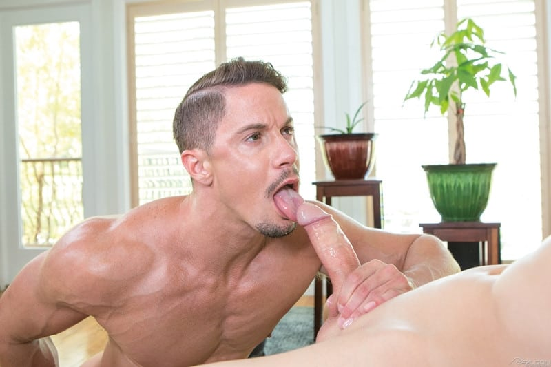 Men for Men Blog Nikko-Russo-Skyy-Knox-fucks-huge-cock-balls-deep-muscled-ass-hole-FalconStudios-008-gay-porn-pictures-gallery Nikko Russo pounds his huge cock going balls deep inside Skyy Knox's muscled ass hole Falcon Studios