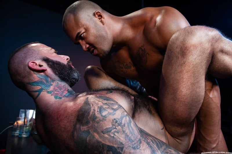 Men for Men Blog Jason-Vario-Alexander-Kristov-throbbing-cock-smooth-asshole-anal-rimming-fucking-ass-RagingStallion-010-gay-porn-pics-gallery Jason Vario turns Alexander Kristov onto his back and slides his throbbing cock deep into his smooth asshole Raging Stallion