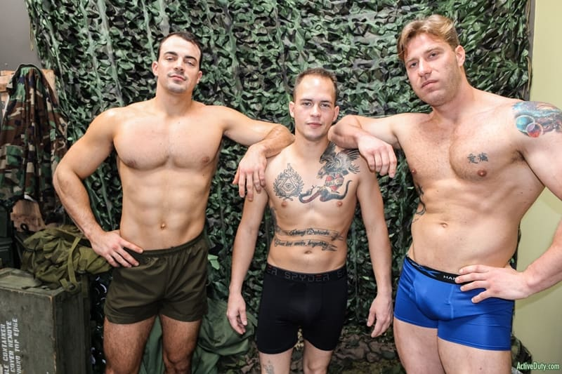 Young-army-recruits-Richard-Buldger-Alex-James-John-Hawkins-hardcore-anal-fucking-ActiveDuty-004-Gay-Porn-Pics
