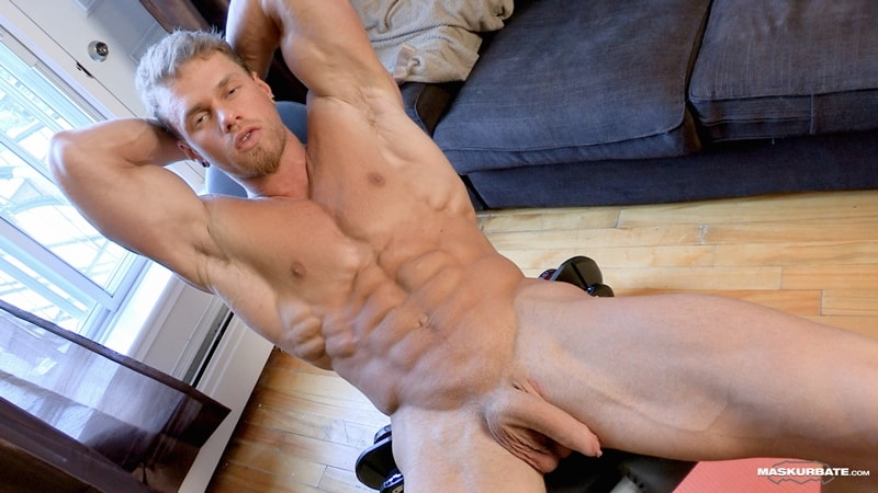 Big-muscle-man-Maskurbate-Brad-strips-naked-jerking-huge-uncut-dick-cum-010-Gay-Porn-Pics