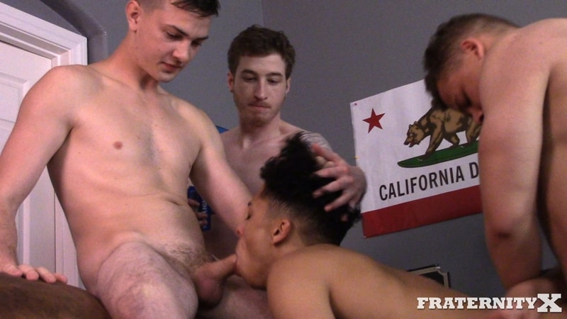 Young-college-dudes-dumped-cum-loads-on-Pierce-cute-face-FraternityX-001-Gay-Porn-Pics